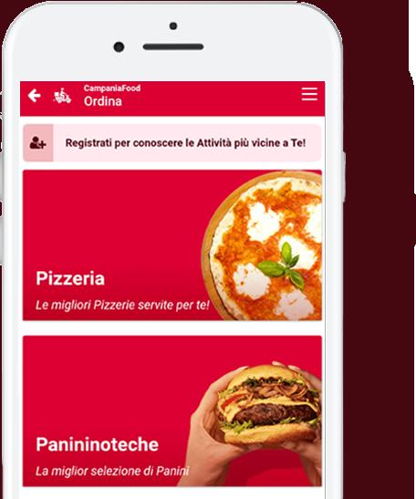 home campania food app
